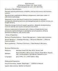 Technical Support Engineer Sample Resume by Effective Resume Format Doc Good Curriculum Vitae Samples Resume