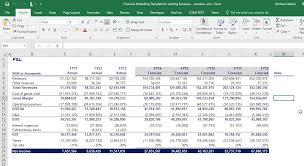 Income Statement Balance Sheet Cash Flow Template Excel by Financial Modelling 2 Income Statement Balance Sheet And Cash