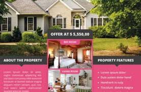 real estate flyers templates free free real estate flyer download free psd flyers
