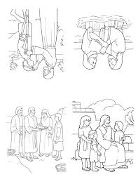 the life of jesus tiny coloring booklet the mormon home
