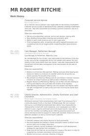 Automotive Resume Examples by Customer Service Advisor Resume Samples Visualcv Resume Samples