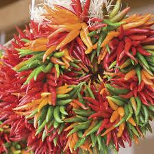 kitchen chili pepper wall art chili pepper christmas festive christmas wreath ideas southern living