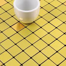 metallic tiles backsplash alucobond tile acp brushed aluminum mosaic sheets metal tile