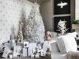 white xmas tree decoration ideas home interior ekterior ideas