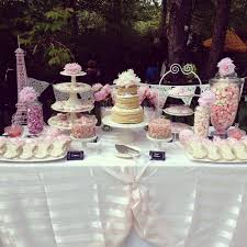 Kitchen Tea Ideas Themes French Bridal Shower Ideas Pink And White French Themed Bridal
