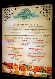 Cheap Buffets Las Vegas Strip by Garden Court Buffet Las Vegas Downtown Menu Prices