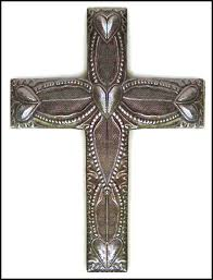 Cross Wall Decor by Large Decorative Metal Cross Wall Hanging