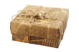 newspaper wrapping paper 16 ideas for wrapping presents without wrapping paper the budget