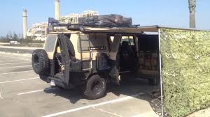 survival truck camper urban survivor tactical camper van youtube