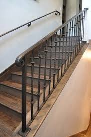 Banister Rails For Stairs The 25 Best Iron Stair Railing Ideas On Pinterest Wrought Iron