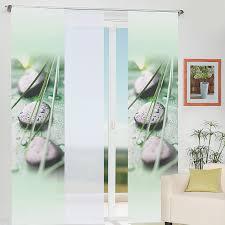 home wohnideen schiebevorhang home wohnideen schiebevorhang coruna grün dekostoff 245 x 60 cm