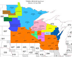 Verizon Coverage Map Michigan by At U0026t Acquired 700mhz Spectrum From Redwood Wireless Mn Wi