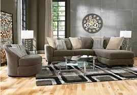 Rooms To Go Living Room Set Meridian Springs Charcoal 5 Pc Sectional Living Room Living Room