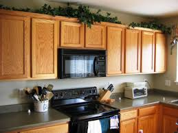 above kitchen cabinet ideas simple decorating above kitchen cabinets ideas emerson design