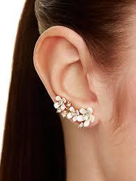 ear pin pretty petals ear pin kate spade new york