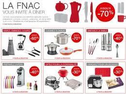 fnac jusqu à moins 70 sur rayon cuisine casseroles