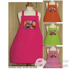 tablier cuisine fille fille et garçon dans enfant sur tablier et torchon
