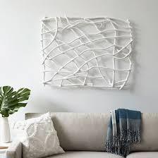 Paper Mache Ideas For Home Decor Papier Mache Wall Art Branches Westelm Diy Art Pinterest