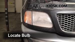 ford f150 headlight bulb headlight change 1997 2004 ford f 150 2000 ford f 150 xlt 4 6l