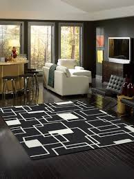 Black Area Rugs Modern Contemporary Area Rugs Cheap