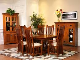 Mission Style Dining Room Furniture Mission Style Dining Table And Chairs With Design Picture 6744 Yoibb