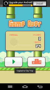 flappy bird apk flappy bird apk for android how to get high score