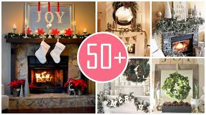 gorgeous christmas rustic fireplace mantel decorations from mylove