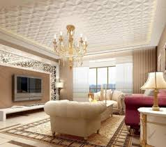Luxury Living Room Designs Photos by Fabulous Textured Ceiling Design With Gold Chandelier For Luxury