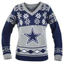 cowboys sweater dallas cowboys s nfl v neck sweater walmart com