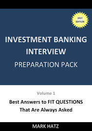 investment banking interview preparation pack