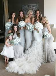 silver sequin bridesmaid dresses sheath v neck floor length silver sequins bridesmaid dress