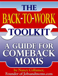 jobs and moms moms going back to work