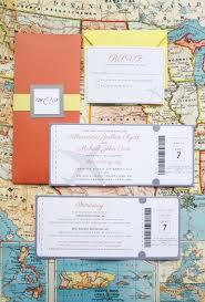 Boarding Pass Wedding Invitation Card 10 Fun Ideas For Unique Wedding Invitations U2014 Songbird Paperie