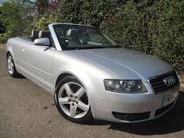 2004 audi a4 cabriolet sport 2 4 2 owner full leather new mot