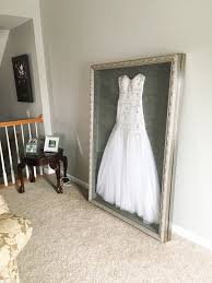 wedding dress storage instead of putting my wedding dress in a box in the attic