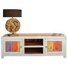 sideboard fã r wohnzimmer lowboard shabby chic weiß far away tv sideboard recyceltem teak