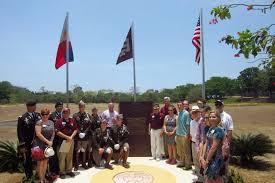 Aggie Flag Steve U0026 Marcia On The Rock Corregidor Journal Texas A U0026m Aggie