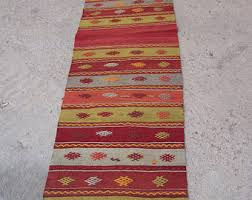 Red Runner Rug Runner Rug Etsy