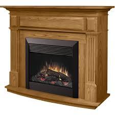 dimplex preston 55 inch electric fireplace oak dfp6787o gas