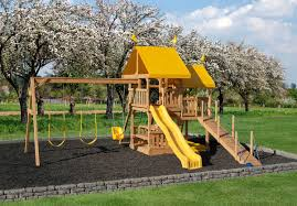 easy fun backyard kids play sets play mor swingsets in ohio