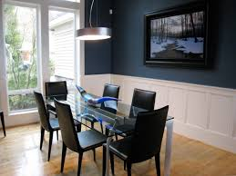 Black And White Dining Room Chairs by This Stylish Glass Table Is Trimmed With Sophisticated Black