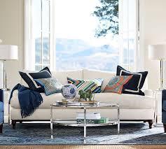 pottery barn carlisle sofa review carlisle upholstered sofa and