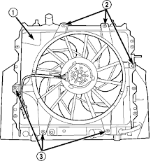 chrysler pt cruiser radiator fan repair guides engine mechanical components engine fan