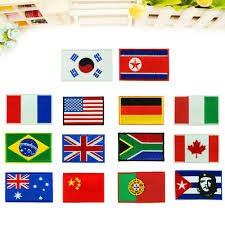 Country Flags Patches Buy Emblems For Clothing And Get Free Shipping On Aliexpress Com