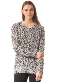 selected femme selected femme anni knitted pullover for women grey planet