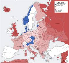 Map Of Cold War Europe by Nielsbrockprogram Background To The Cold War 1941 45