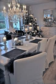 black and white dining room ideas love it black white grey christmas and dining room love the