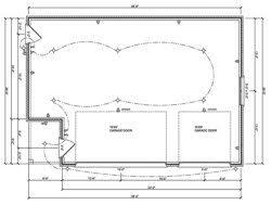 l shaped garage plans detached garage plans package of 58 garage shop plans garage