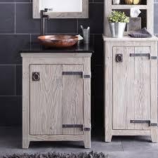 Stainless Steel Bathroom Vanity Cabinet Barn Wood Bathroom Vanity Stainless Steel High Arm Faucet