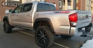 Off Road Tires 20 Inch Rims Wheel Offset 2016 Toyota Tacoma Slightly Aggressive Suspension